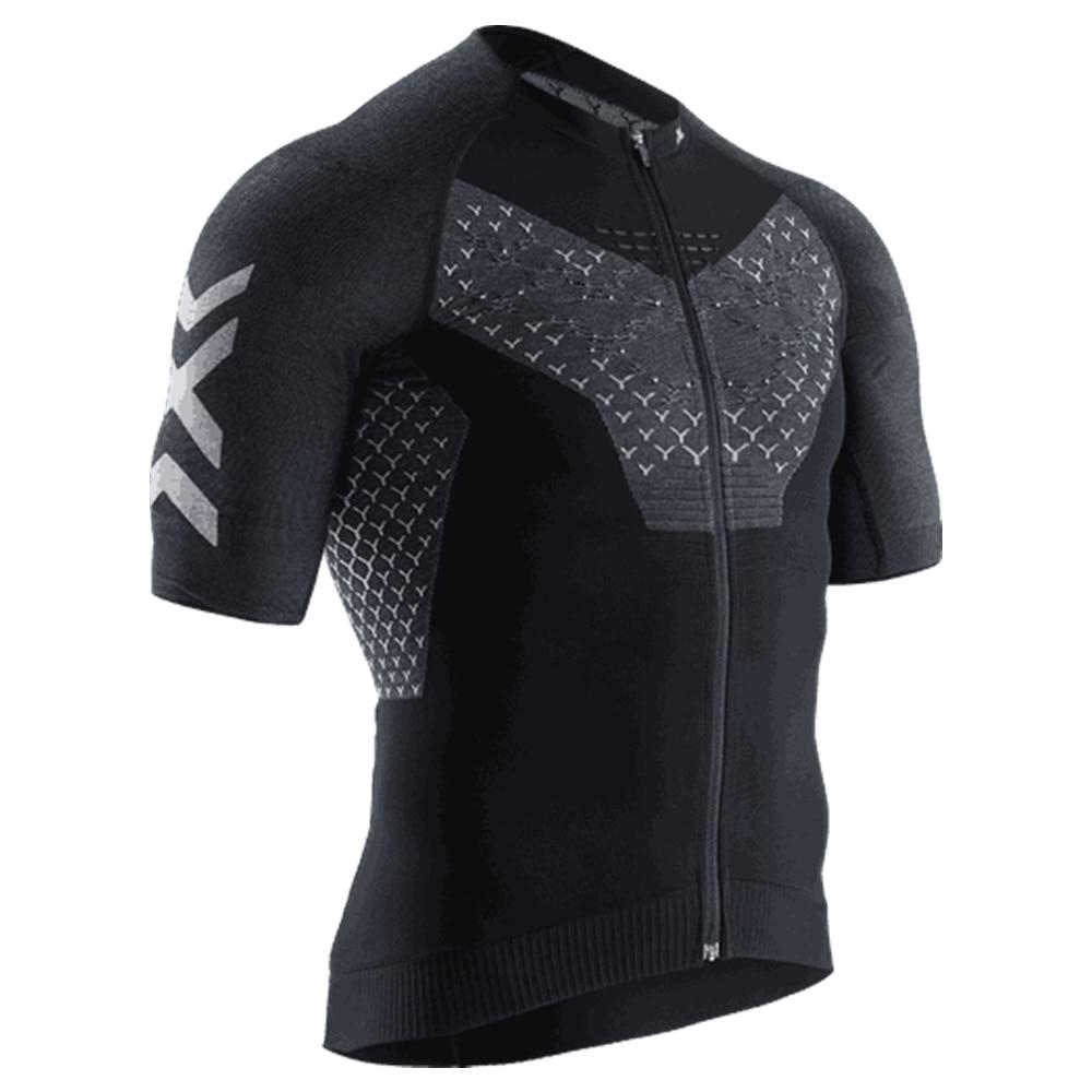 X-BIONIC Gazprom 2020 pro team-ropa de ciclismo para hombre, conjunto de jersey y pantalones cortos de babero