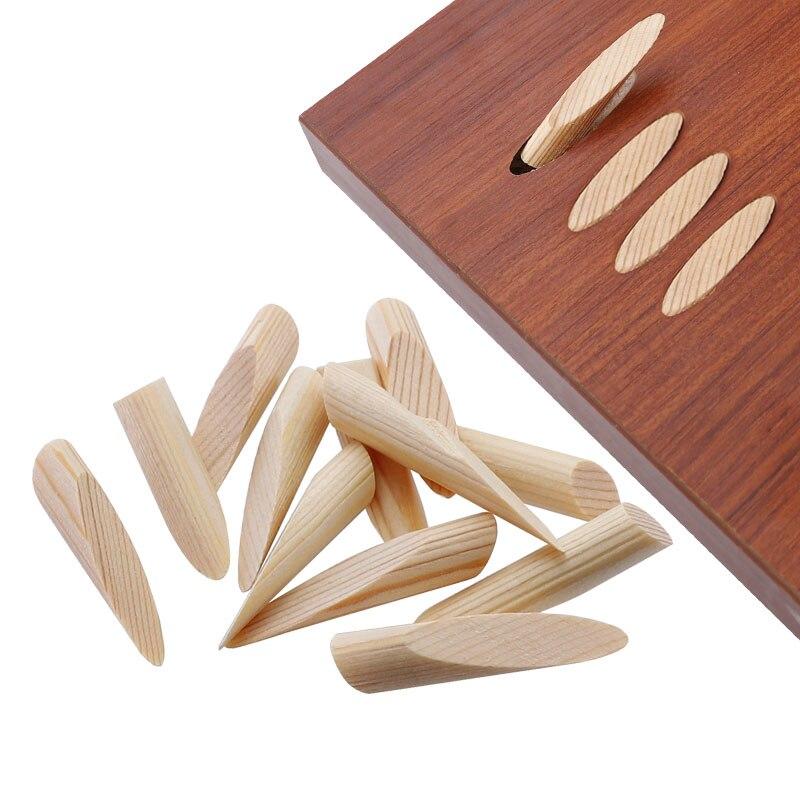 """Tampões de furo de bolso 9.5mm 3/8 """"acessórios de broca de madeira 50 pçs plugues de madeira de pinho para trabalhar madeira buraco de bolso"""