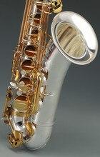 JUPITER KHS nouveau ténor Saxophone professionnel B plat argent or clés Saxofone