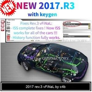 Image 2 - Новинка 2021, плата v9.0 vd ds 150e cdp с bluetooth 2017.R3 генератор ключей на dvd OBD2 сканер инструмент для delphis + 8 автомобильных/грузовых кабелей на выбор
