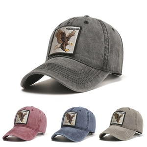 New Retro Adult Embroidered Eagle Baseball Cap Men And Women Caps Outdoor Street Sun Hats