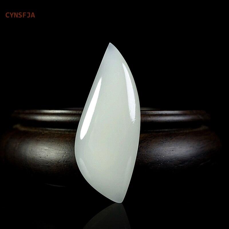حجر يشم هيتان صيني فضفاض ، حجر عالي الجودة ، مصنوع حسب الطلب ، نادر ، جديد ، معتمد