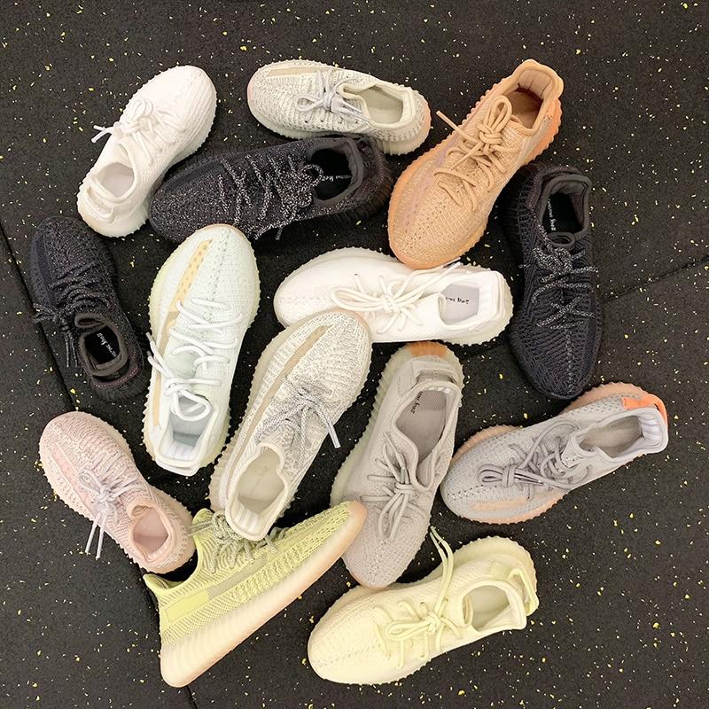 Hommes baskets de course respirant mouche armure chaussures lumineuses rue réfléchissant chaussures de marche décontractées homme lumière Jogging chaussures de sport