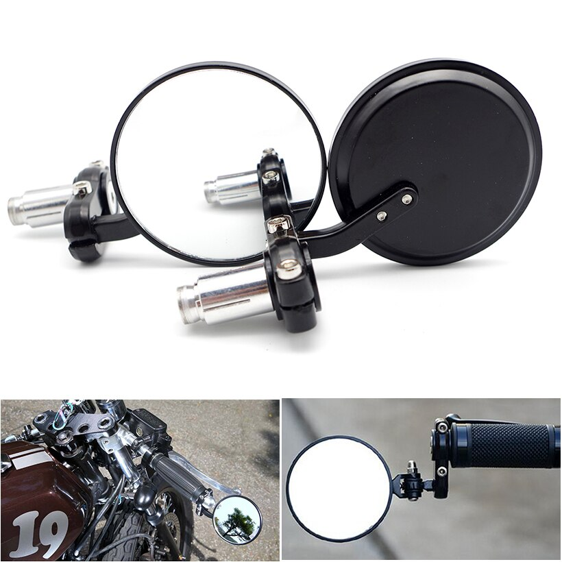 Accesorios retrovisores de motocicleta para suzuki gsx s1000 hyosung gt650r yamaha mt 03 ltz 400 honda sh 300 Barra de espejo final