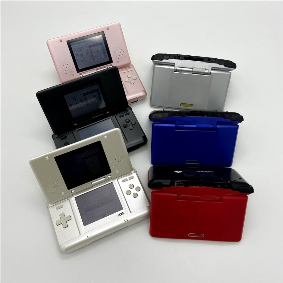 Professionally Refurbished For Nintendo DS Game Console For DS Video Game System Palm game With Game card and 16GB memory card