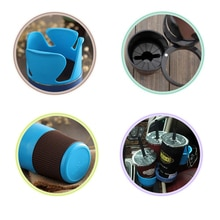 New Car Drinking Bottle Holder Rotatable Water Cup Holders Sunglasses Phone Coins Keys Organizer Box