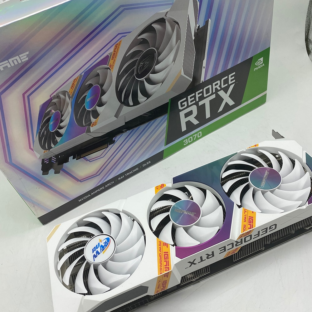 Rumax Graphic GPU mining card bitcoin machine Graphics Card Galax RTX3070 master