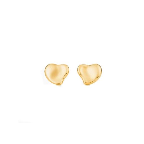 925 Sterling Silver original glue dropping Love Blue Earrings Charm Jewelry women's Earrings anniversary wedding gift