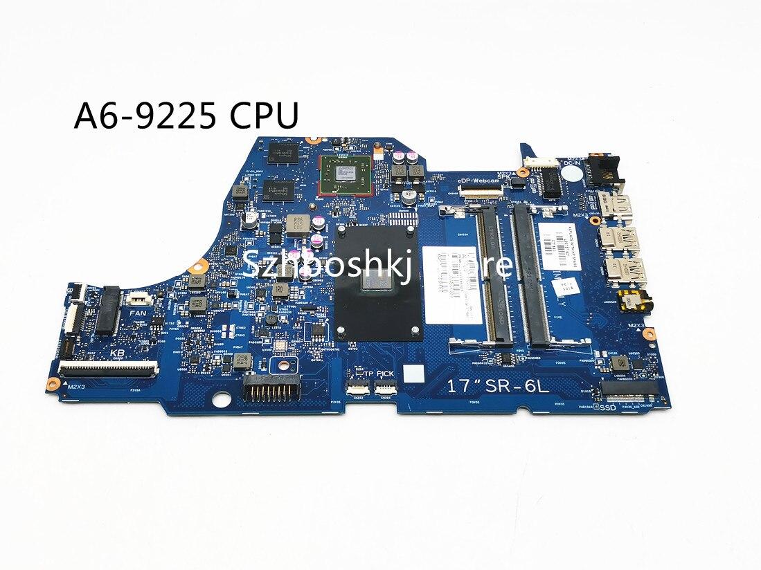 L22727-601 L22727-001 ل HP 17-CA 17-ca0000AX اللوحة المحمول ث/530/2 جيجابايت A6-9225 وحدة المعالجة المركزية 6050A2985501-MB-A01 اختبار كامل العمل