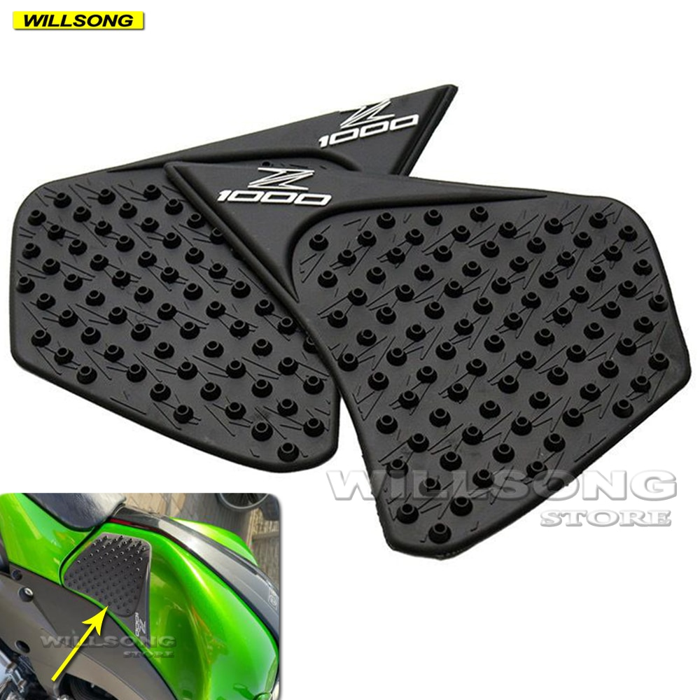 Anti Slip Sticker Tank Pad Side Knee Grip Protector For KAWASAKI Z1000 2014-2021 Year Motorcycle Accessories