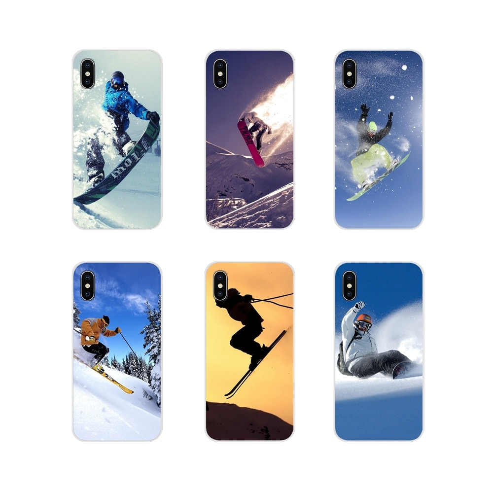 Snow Or Die Ski Snowboard Accessories Phone Cases Covers For Samsung A10 A30 A40 A50 A60 A70 M30 Gal