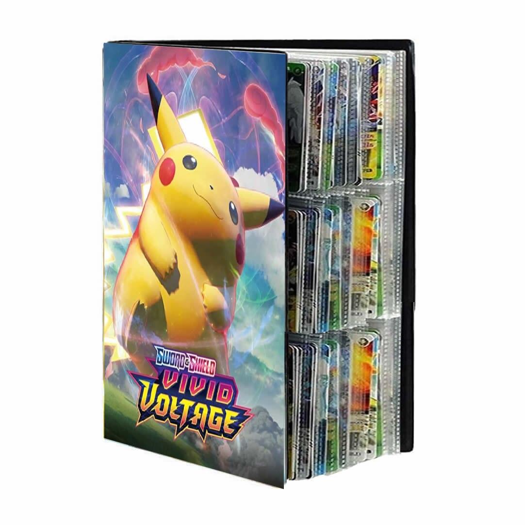 Pokemon 432 Card Album Book Anime Map Game Pokémon cards Cartoon 9 Pocket Collection Holder Binder