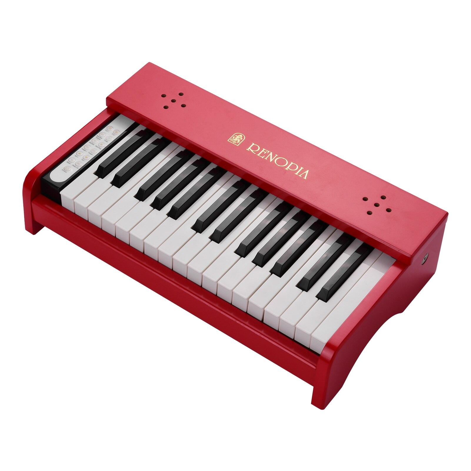 البيانو الموسيقي للأطفال 30 مفاتيح خشبية تعلم العزف على البيانو آلة موسيقية التعليم المبكر أداة للبنين بنات