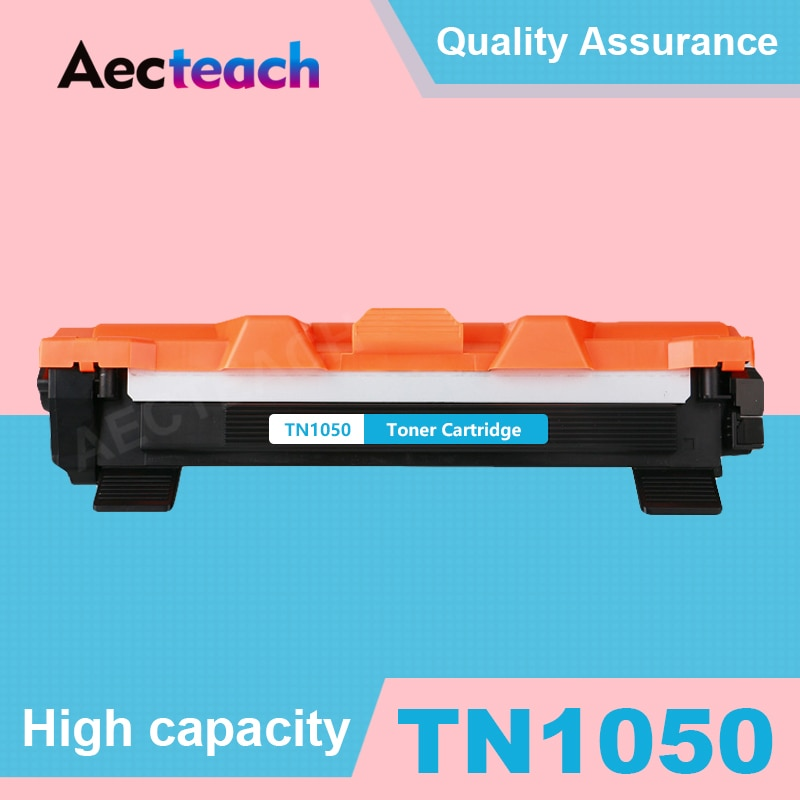 Aecteach Compatible para hermano TN1050 cartucho de tóner HL-1110 1110E 1110R 1112 1112E 1202R DCP-1510 1510R impresora negro