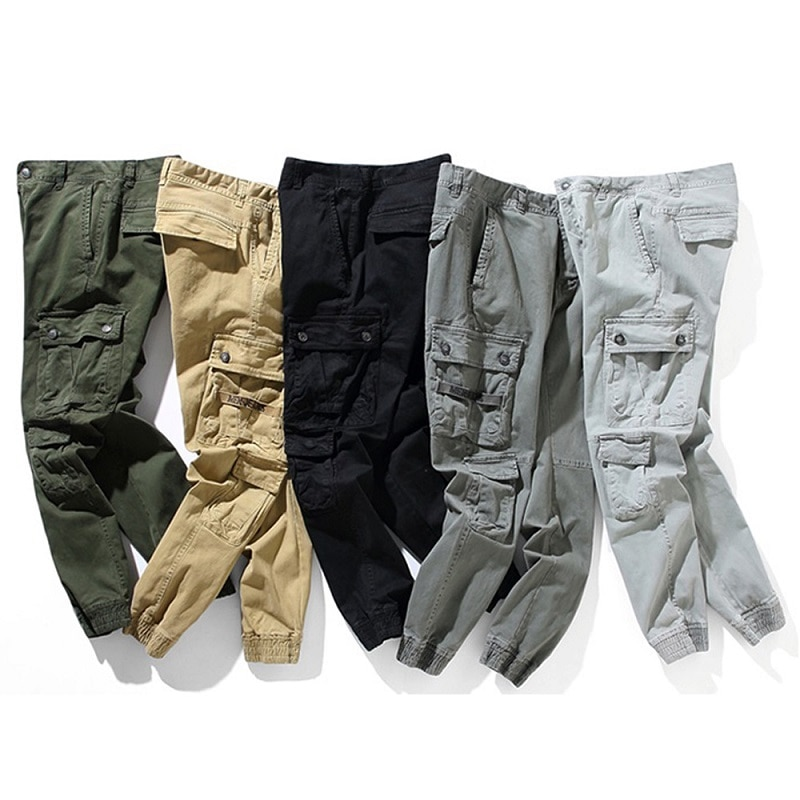 Traf Men's Cargo Pants Baggy Streetwear Men Trousers Casual Man Pants Fashion High Waist Clothing Classic Trousers For Men