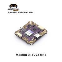 Diatone MAMBA DJI F722 MK2 Flight Controller 30.5*30.5mm/M3 F7 FC DJI System Support without Soldering 3-6S