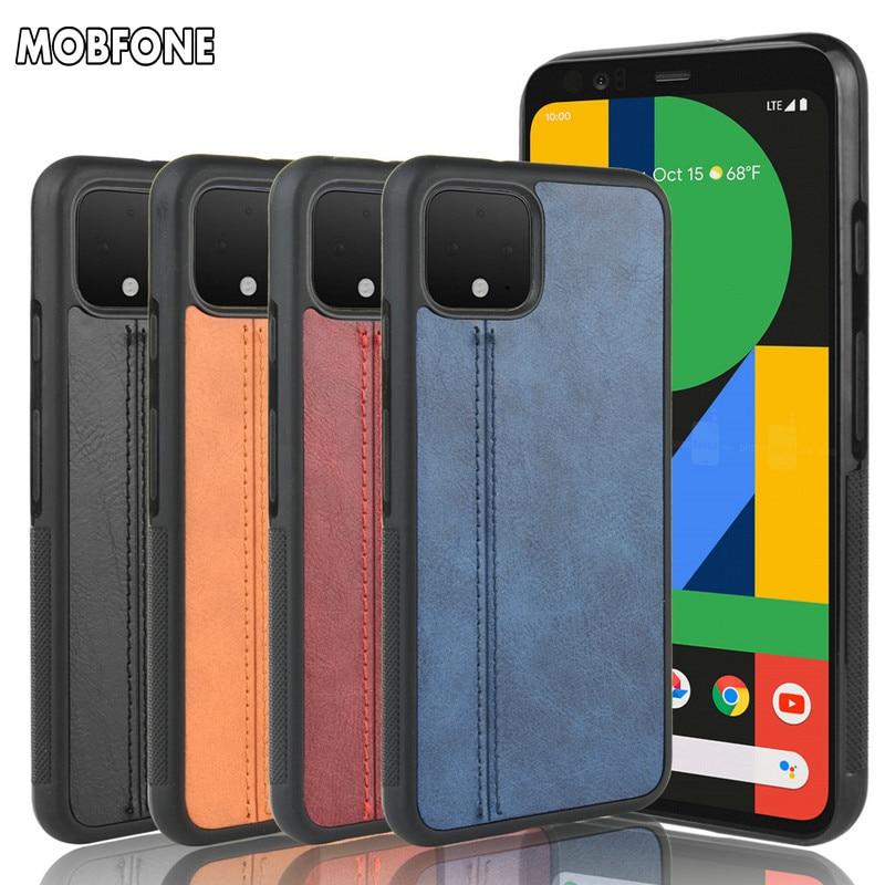 Retro Full Cover case for Google Pixel 4 3 3A XL Shockproof Etui for Google Pixel XL4 XL3 Coque Fundas Premium Leather Case Skin