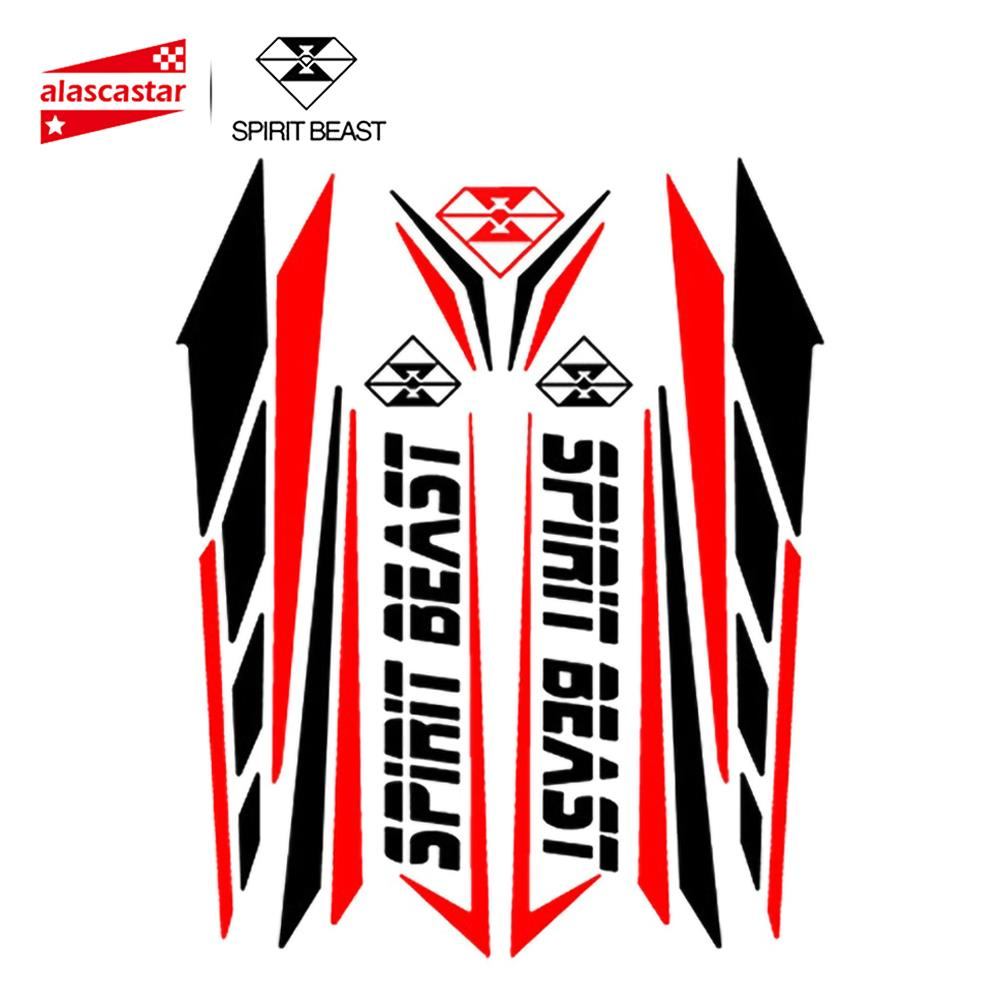Наклейка для мотоцикла SPIRIT BEAST, защитная накладка на бак для мотоцикла, для мотокросса, Pegatinas, для Honda, ЯМАХА, Кавасаки