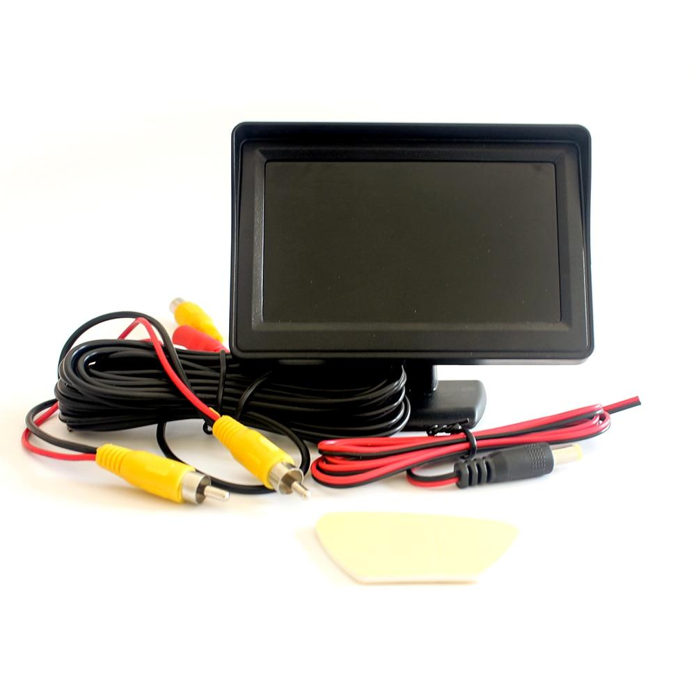 4.3-inch on-board reversing monitor, parking reversing display, LCD color display health central reversing costochondritis