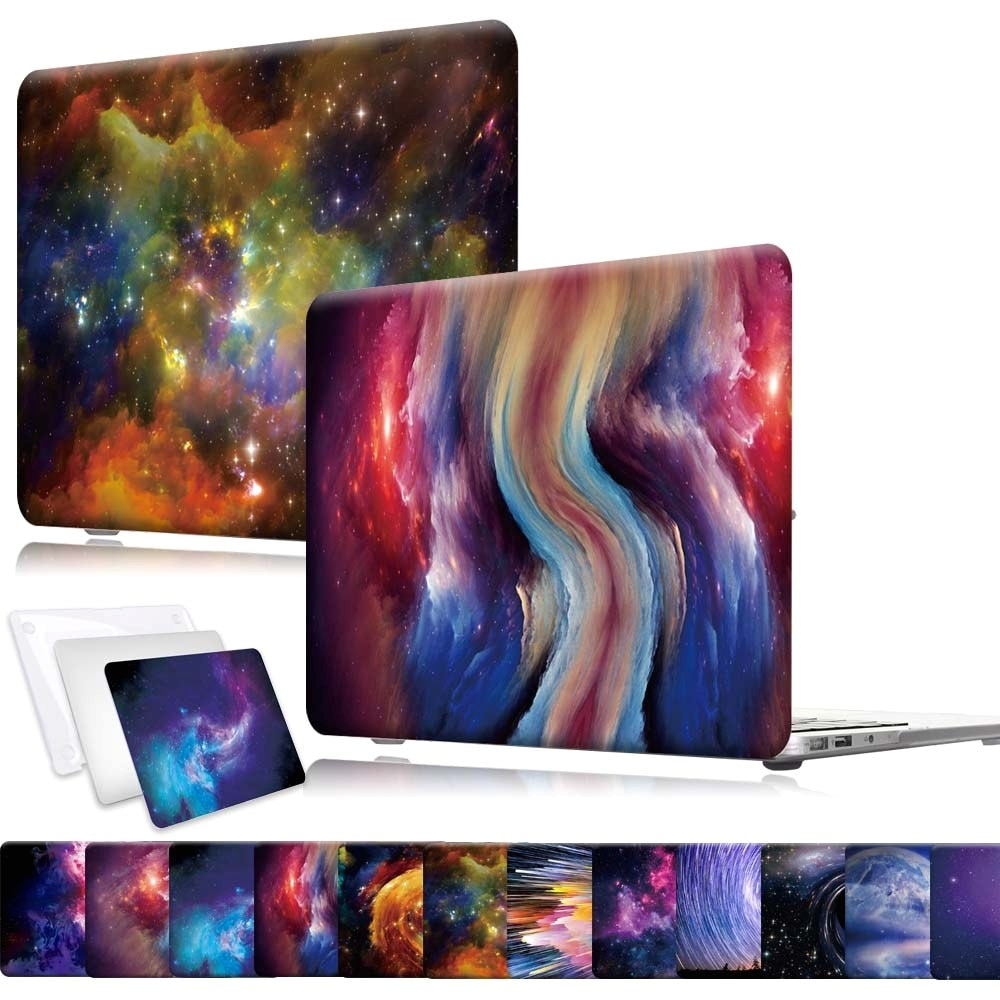 Laptop Case for Apple MacBook Air/Pro 11/12/13/15/16 Plastic Anti-fall Computer Protective Shell