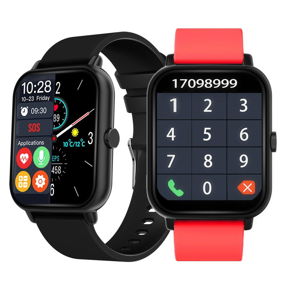 2021 Smart Watch Men Sport Watches Women Digital Wristwatches Blood Pressure Oxy Bluetooth Call Smar