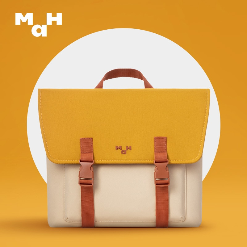 MAH المدرسية الأصلي كامبريدج حقيبة النمط الياباني على ظهره المرأة الصيف حقيبة ظهر عادية