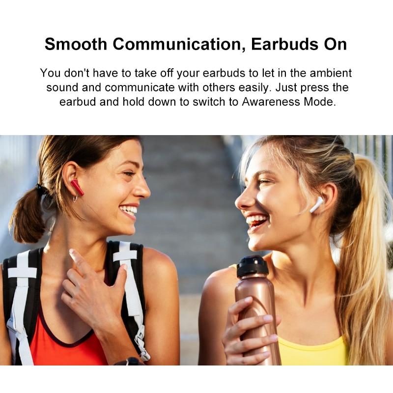 Global Version Huawei Freebuds 4i Wireless Headphone Dynamic Unit ANC  Active Noise Cancellation Wireless Bluetooth 5.2 dual-mic