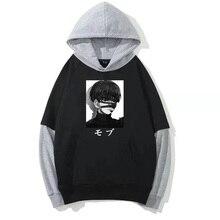 Hot Japan Anime Mob Psycho 100 Hoodies Cool Shigeo Graphic Pullover Loose Causal Sweatshirt Streetwe