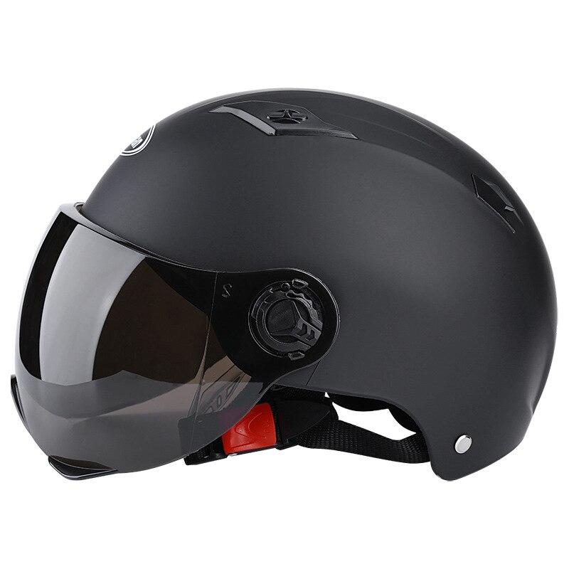 Casco de verano moto rcycle casco de media cara moto rbike seguridad eléctrica moto Casco casco Casco para mujeres/hombres casco moto