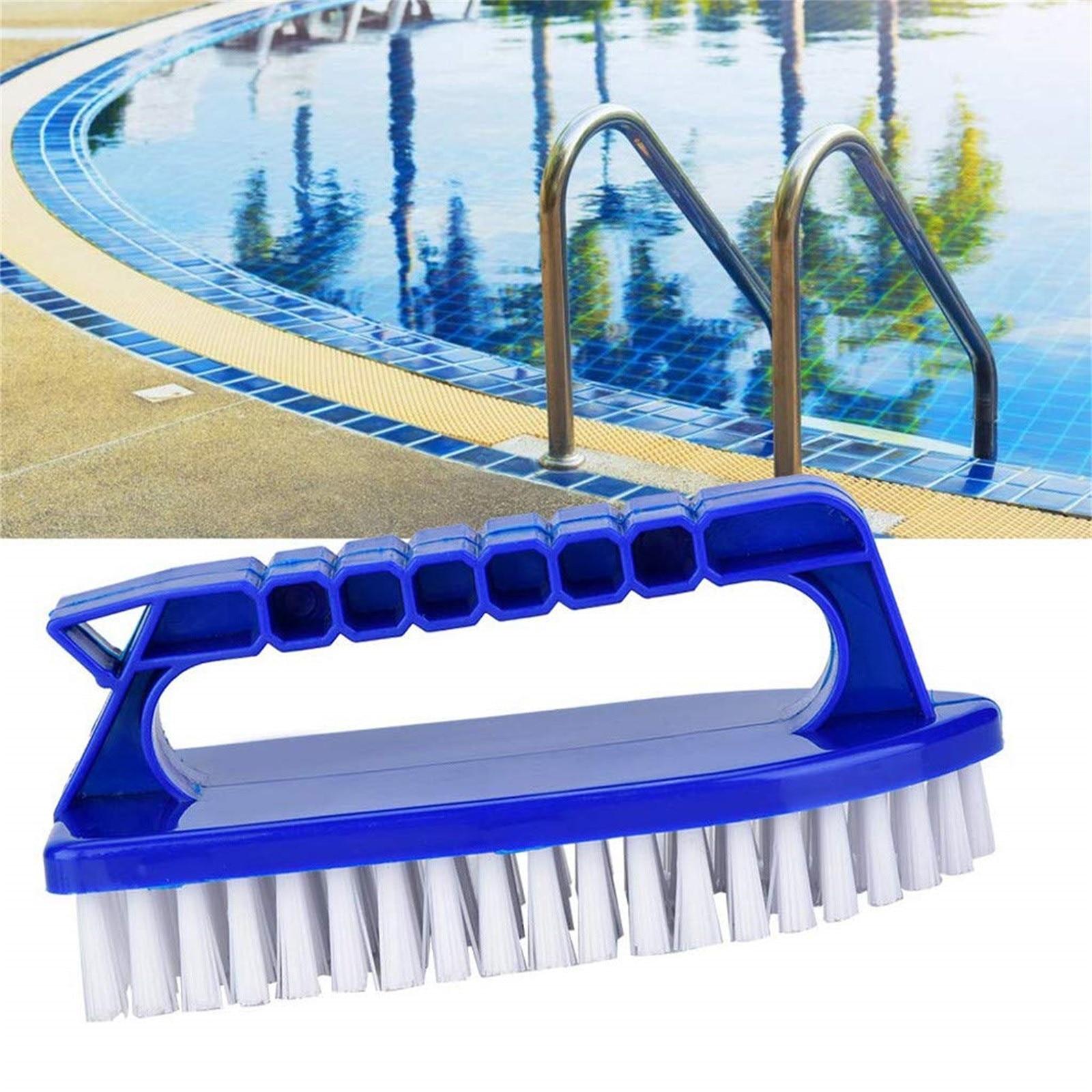 Cepillo de limpieza portátil para piscina, juego de escoba para limpiar piscinas,...