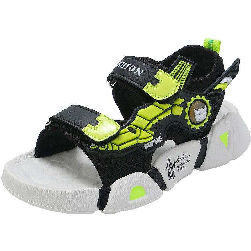 2021 механические сандалии, обувь, модные сандалии для мальчиков, пляжная обувь, Уличная обувь