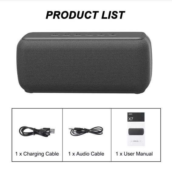 TWS Bluetooth Speaker 50W Wireless Column Soundbar Portable Bluetooth 5.0 Outdoor Heavy Bass Subwoofer AUX USB for PC TV Boombox enlarge