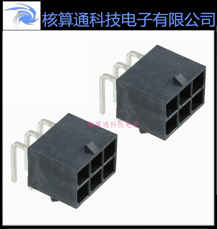بيع 0768250006 768250006 ، 76825-0006 ، الأصلي 6 دبوس 5.7 مللي متر تباعد 1 قطعة يمكن النظام 10 قطعة حزمة
