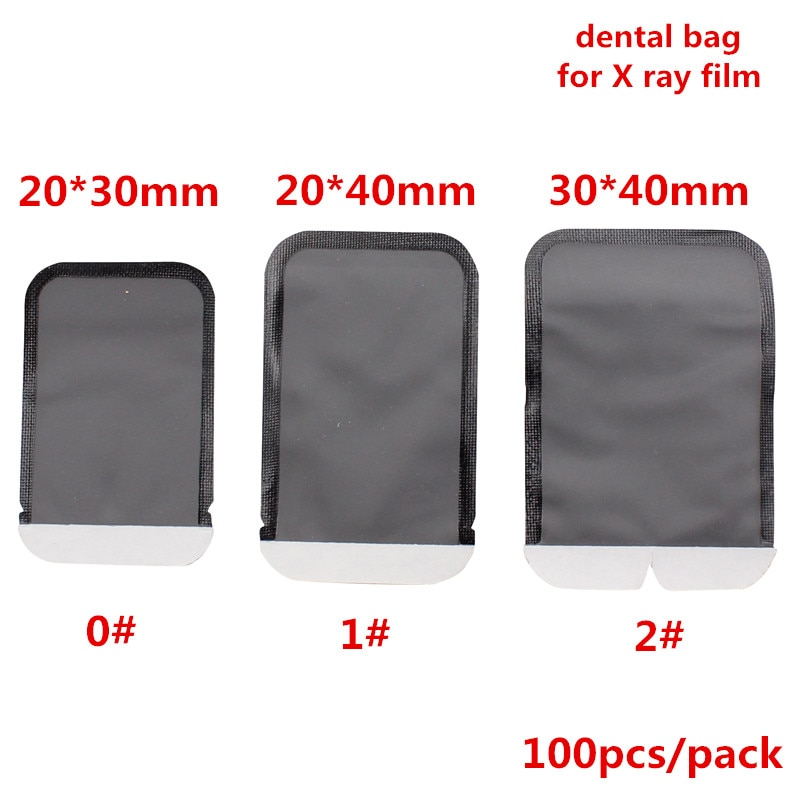 100Pcs/bag Dental Consumables Materials Dental Barrier Envelopes Dental Bags For X-ray Film 0# 1# 2# X-ray Film Bags Dentist Lab dental chair unit 24v x ray film reader x ray film viewer dental products dental equipment
