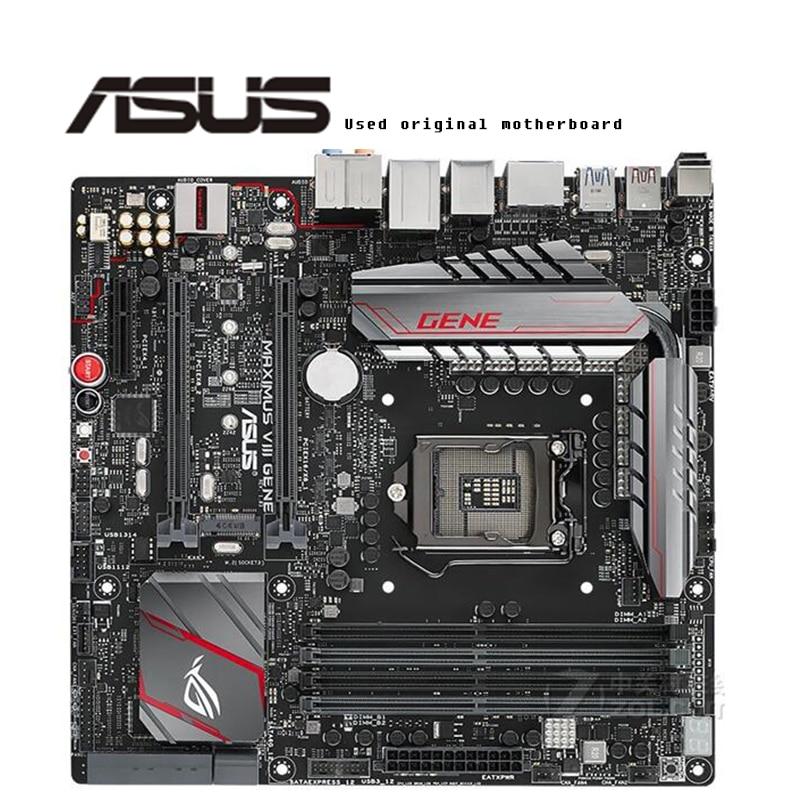 Para ASUS MAXIMUS VIII GENE original motherboard Socket LGA1151 DDR4 Z170 Desktop Motherboard