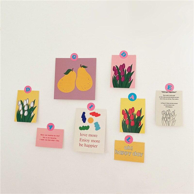 8-fogli-di-colore-tulipano-pera-set-di-cartoline-decorative-coreano-ins-carte-da-parete-camera-da-letto-puntelli-foto-sfondo-fai-da-te-regalo-di-cancelleria