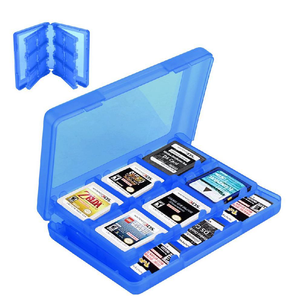 Soporte de juego de cartas estuche de tarjetas de juego caja cartucho Anti polvo Protector para Nintend 3DS LL XL DS caja de tarjetas de juegos