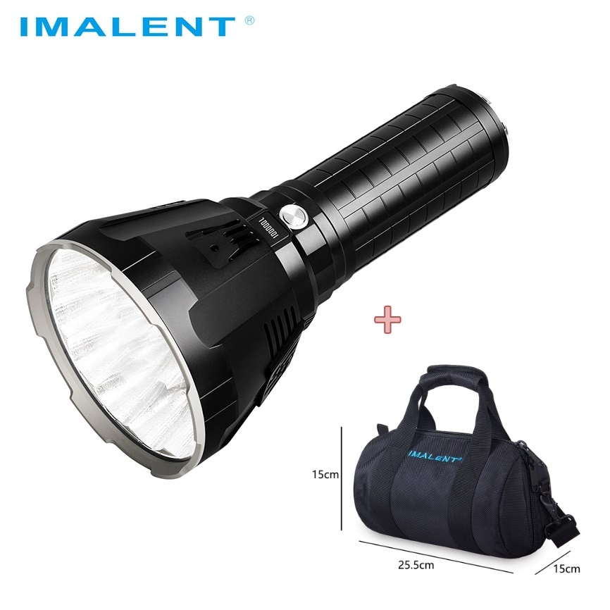 IMALENT MS18 LED Flashlight 100000 Lumens CREE XHP70.2 High Power Military Tactical Flashlight with 21700 Battery for Camping