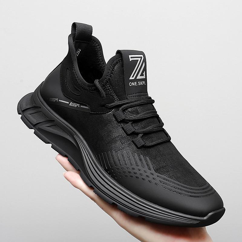 Спортивная обувь Мужская сетчатая дышащая Спортивная обувь для бега мягкая бархатная теплая спортивная обувь мужская обувь