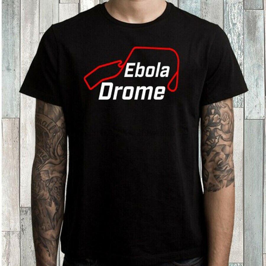 Camiseta negra con Logo de circuito Grand Tour de Ébola para hombre talla S M L XL 2XL 3XL