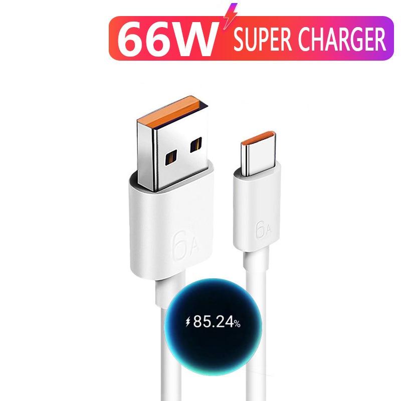 Cable USB tipo C de carga rápida para Oppo Realme X 5...