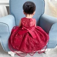 new years dress mesh embroidered princess dress bowknot nail bead cake dress tuxedo sleeveless photography dress
