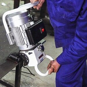 Ручной плоский шлифовальный станок, ручной Электрический Алюминиевый металлический станок для сварки и снятия фаски из углеродистой стали
