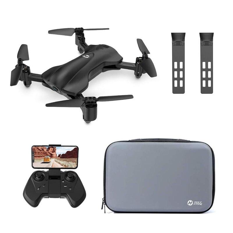 Holytone165-Dron plegable con GPS, 2 baterías, 5G, 2K, cámara HD, toque Fly circular