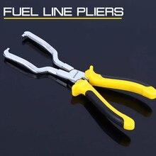 Linha de combustível gasolina clipe alicates 9 Polegada desconexão mangueira liberação remoção ferramenta reparo da tubulação