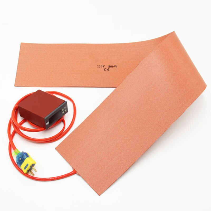 220V Silicone Heater 150*900mm 800W Guitar Bending Press Heating Cooling enlarge