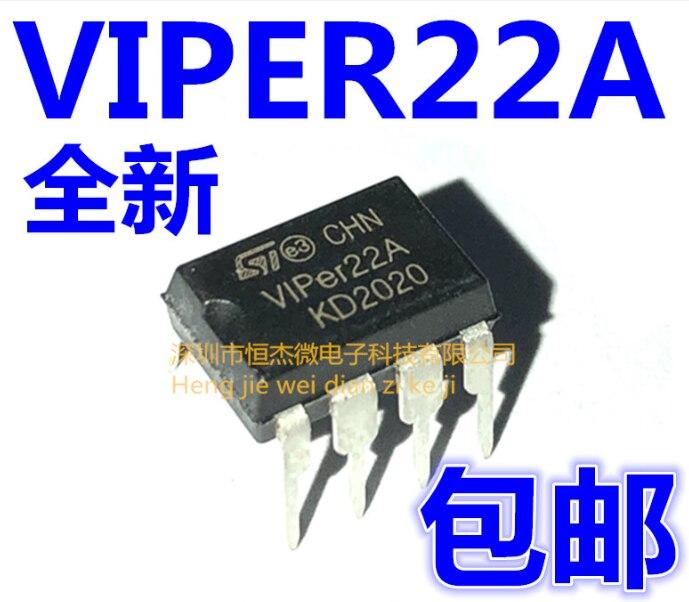 Xinyuan 10 PÇS/LOTE VIPer22A DIP8 VIPer22 DIP DIP-8 22A