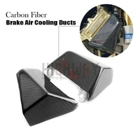 100mm carbon fiber radial front brake caliper pads cooling air duct channel system for ducati 1299 panigale r fe 2017 2018