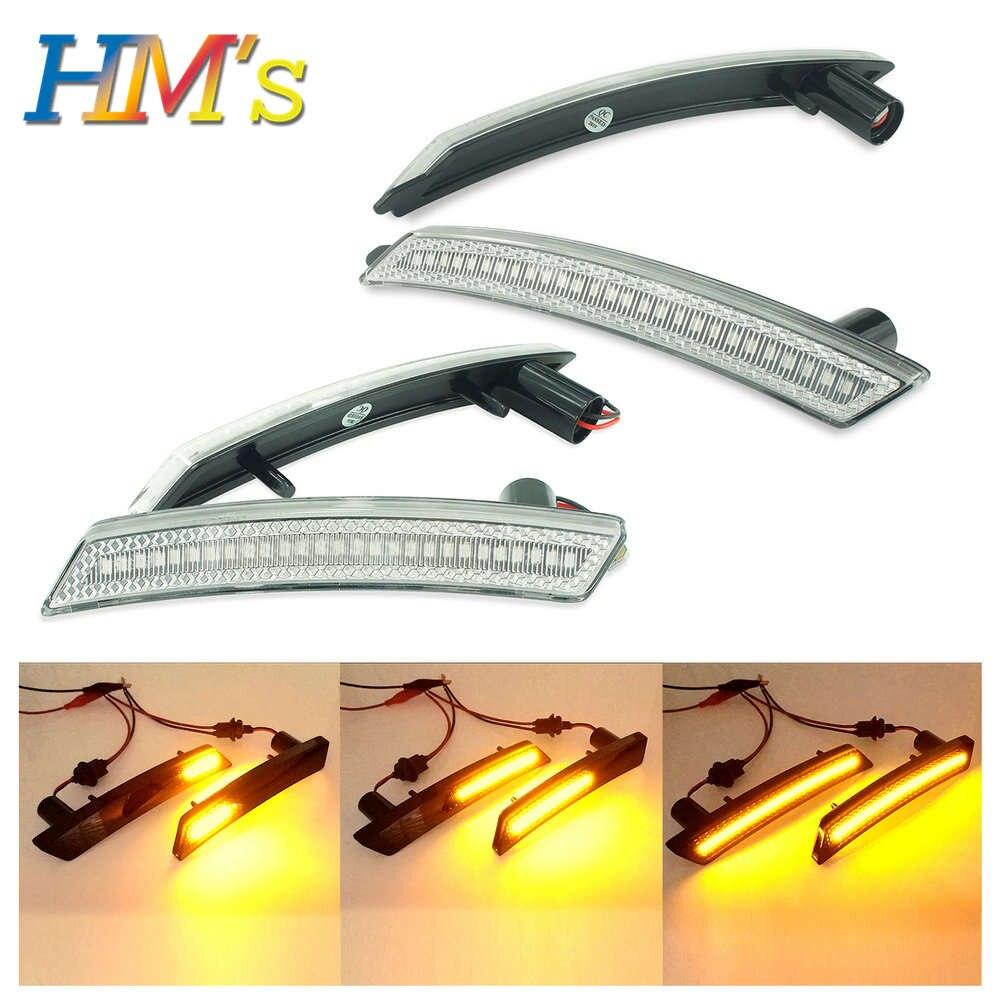 Para Mini Cooper R56 R55 R58 R57 R59 R61, luces LED de posición lateral dinámicas, accesorios para Mini Countryman R60, luces LED de señal de giro