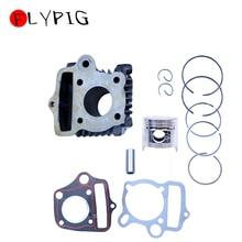 FLYPIG 39mm Kit de cylindre et Kit de Piston et joint de cylindre pour HONDA C50 Z50 CRF ATC XR TRX 50cc 4T 139FMB